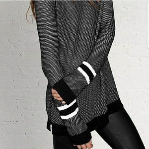 Rag & Bone Martina Striped Pullover Sweater M